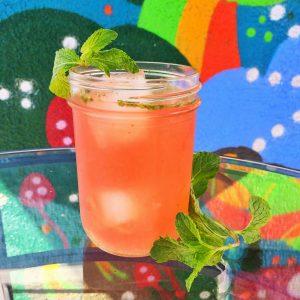 Strawberry-Mint Agua Fresca