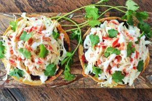 Chicken Tostada Recipe