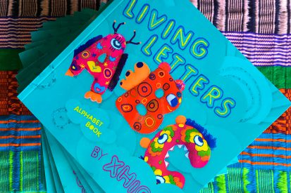 Living Letters ABC Book Cover